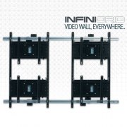 MOUNTING SOLUTIONS FLAT PANEL SYSTEMS - INFINIGRID – Modular Video Wall Mounting System
